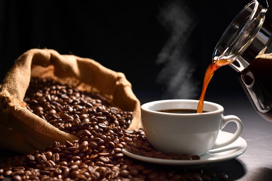 Exportación de café en Colombia